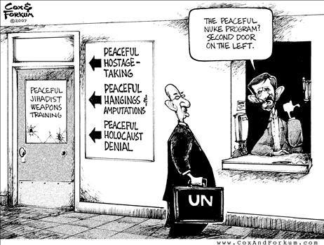 Political Cartoons by Cox & Forkum