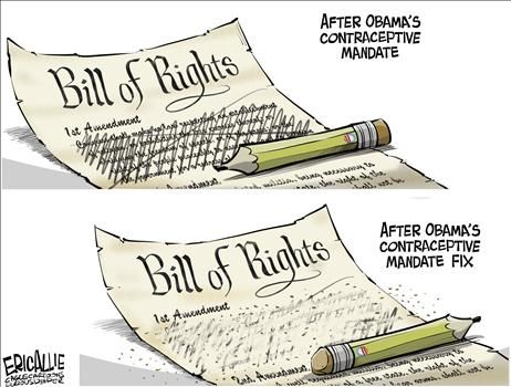 Political Cartoons by Eric Allie
