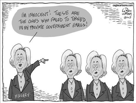 Political Cartoons by Larry Wright