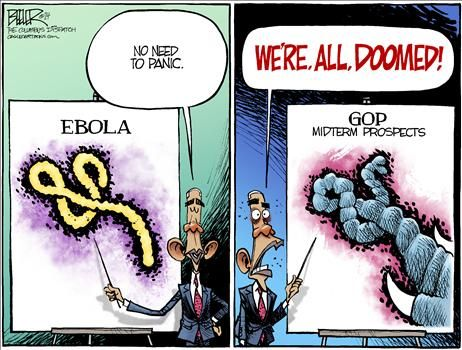 By Nate Beeler - October 20, 2014