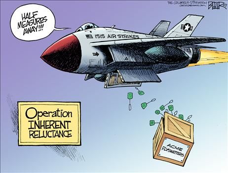 By Nate Beeler - October 22, 2014