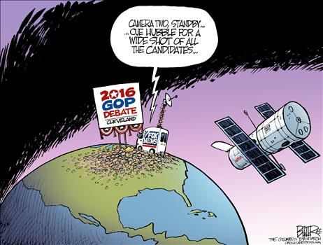 By Nate Beeler - August 3, 2015