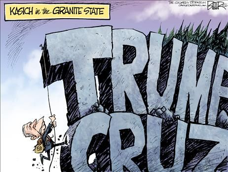 By Nate Beeler - February 7, 2016