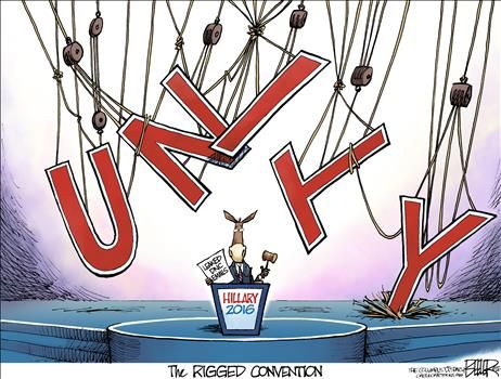 By Nate Beeler - July 25, 2016