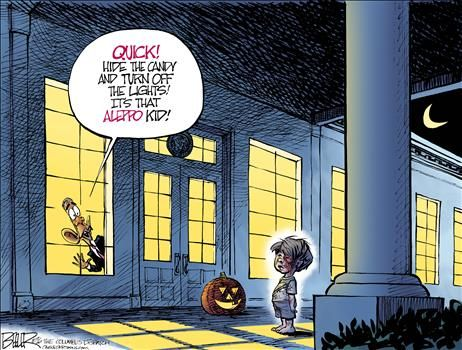 By Nate Beeler - October 24, 2016