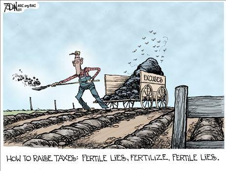 Political Cartoons by Glenn Foden