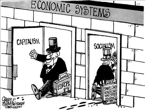 Features of socialism and capitalism essay