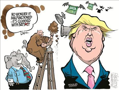 Political Cartoons by Brian Farrington