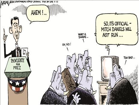 Political Cartoons by Nathan Slaughter