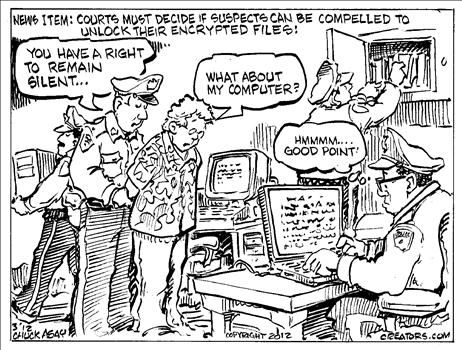 Search And Seizure Cartoons