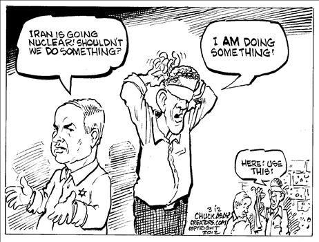 Political Cartoons by Chuck Asay