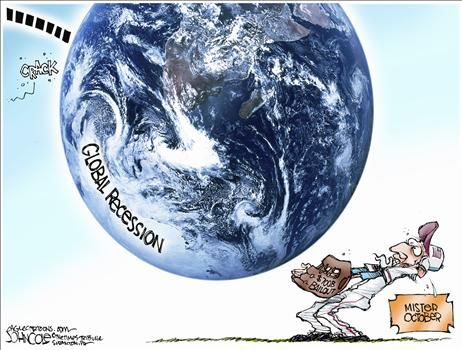 Political Cartoon by John Cole