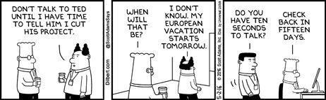 Political Cartoons by  Dilbert