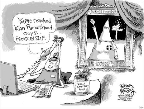 Winner of the 2009 Art Contest: Margaret Sanger at the Ku Klux Klan Rally