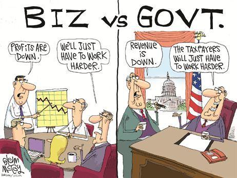 Politics business and bureaucracy a