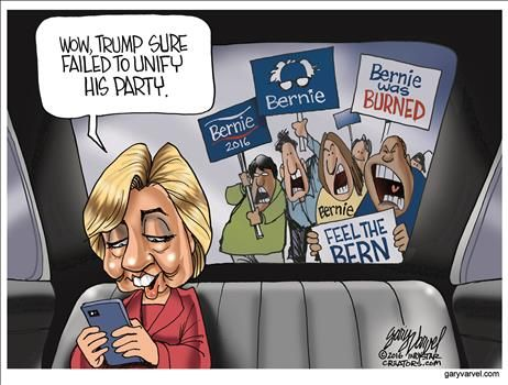 By Gary Varvel - July 25, 2016