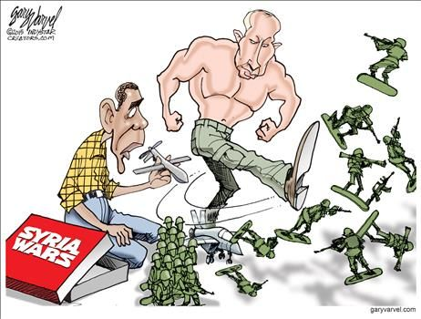 Political Cartoons by Gary Varvel