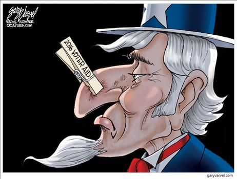 By Gary Varvel - October 23, 2016