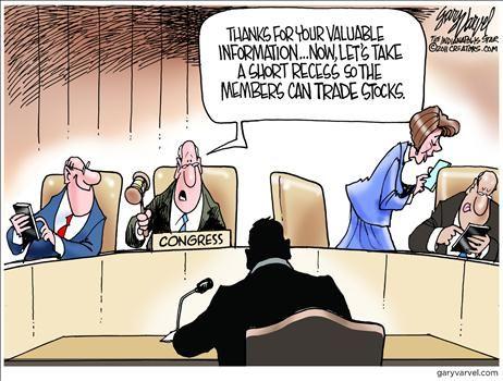 Millionaires Occupy Congress - Insider Trades