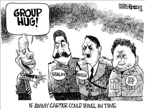 Jimmy Carter  cartoon