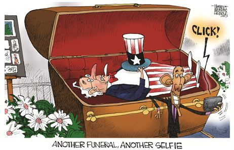 Another Funeral, Another Selfie