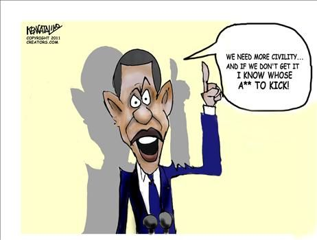 Obama Tucsom Speech - cartoon
