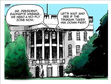 Obama No-Fly-Zone - cartoon