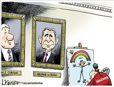 Political Cartoons by Lisa Benson