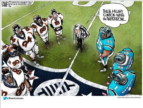 By Michael Ramirez - February 5, 2016