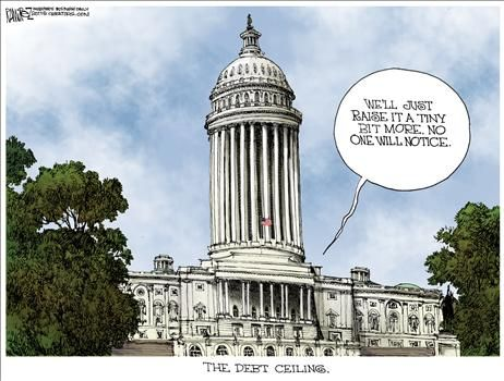 Debt Ceiling - cartoon