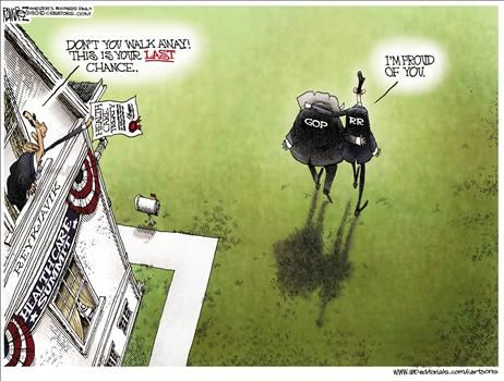 Political Cartoon by Michael Ramirez