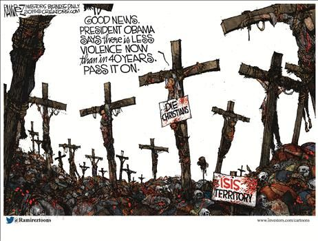 By Michael Ramirez - April 26, 2015