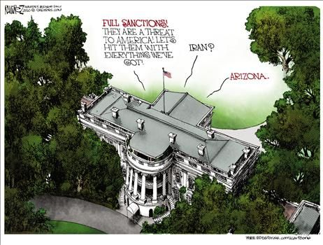 More Political Cartoons by  Michael Ramirez
