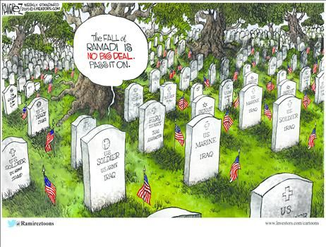 By Michael Ramirez - May 25, 2015