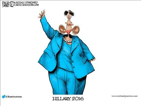By Michael Ramirez - July 25, 2016