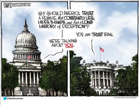 By Michael Ramirez - July 27, 2015