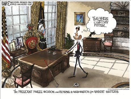 By Michael Ramirez - August 20, 2014
