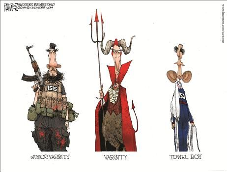 By Michael Ramirez - August 21, 2014