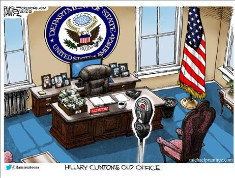 By Michael Ramirez - August 25, 2016