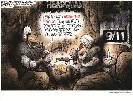 By Michael Ramirez - August 27, 2014