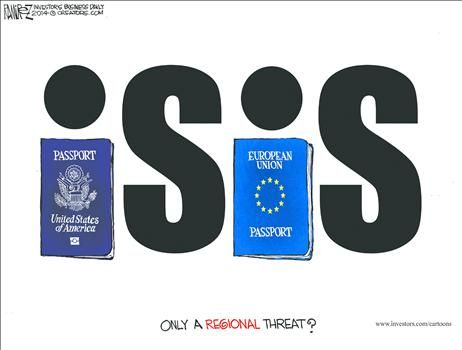 By Michael Ramirez - September 15, 2014