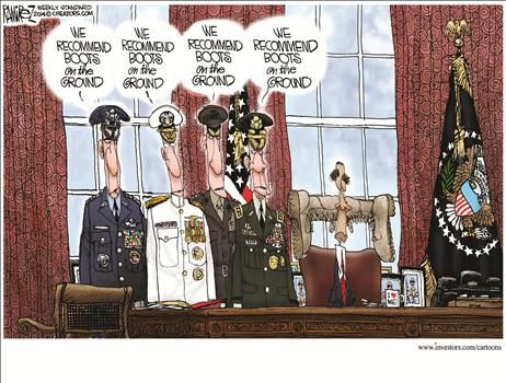 By Michael Ramirez - September 30, 2014