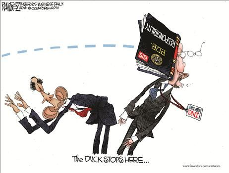 By Michael Ramirez - October 1, 2014