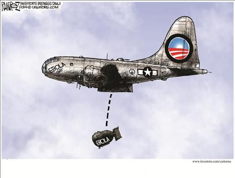 By Michael Ramirez - October 17, 2014