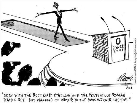 Political Cartoon by Henry Payne