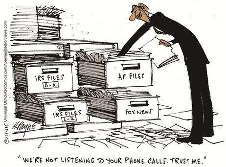 Political Cartoons by Henry Payne