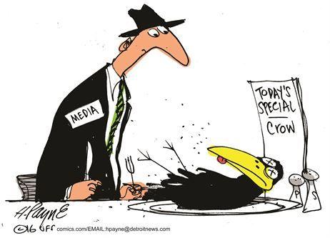 Eating Crow….