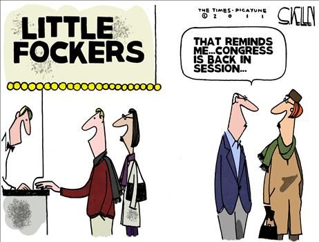Little Fockers Congress - cartoon