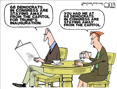 ... Cartoons - Political Humor, Jokes and Pictures ~ January 19, 2017