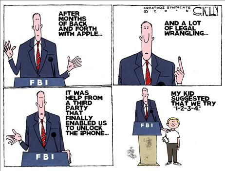 FBI vs. iPhone